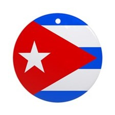 Cuban Ornament (Round)