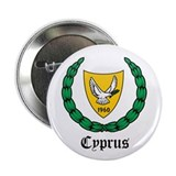 "Cypriot Coat of Arms Seal 2.25"" Button (10 pack)"
