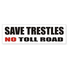 SAVE TRESTLES! Bumper Bumper Sticker