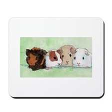 Cute Guinea pig art Mousepad