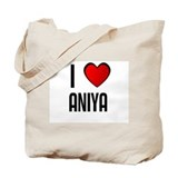 I LOVE ANIYA Tote Bag