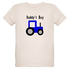 Daddy's Boy Blue Tractor T-Shirt