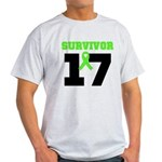 Lymphoma Survivor 17Year Light T-Shirt