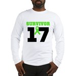 Lymphoma Survivor 17Year Long Sleeve T-Shirt