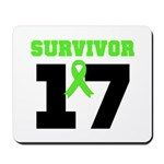 Lymphoma Survivor 17Year Mousepad