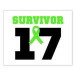 Lymphoma Survivor 17Year Small Poster