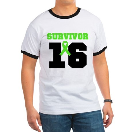 Lymphoma Survivor 16 Year Ringer T