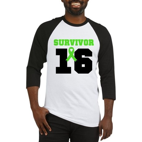 Lymphoma Survivor 16 Year Baseball Jersey