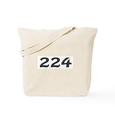 224 Area Code Tote Bag