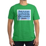 EMERSON - CHARACTOR QUOTE Men's Fitted T-Shirt (da