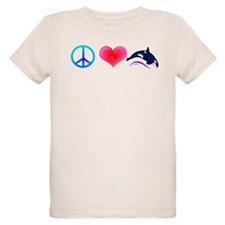 Peace Love Orca T-Shirt