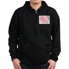 YOUR PURPOSE IN LIFE Zip Hoodie