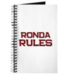 ronda rules Journal