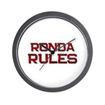ronda rules Wall Clock