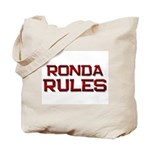 ronda rules Tote Bag