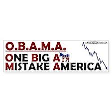 O.B.A.M.A. Bumper Sticker (10 pk)