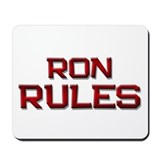 ron rules Mousepad