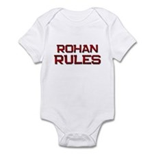 rohan rules Infant Bodysuit
