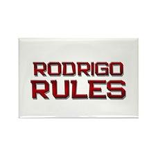rodrigo rules Rectangle Magnet