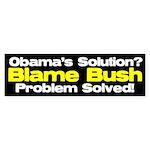 Blame Bush Bumper Sticker (50 pk)