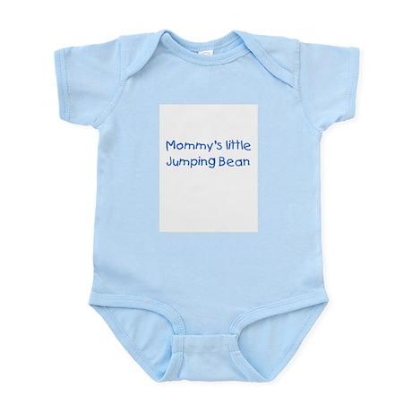 Jumping Bean Blue Infant Bodysuit