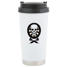 Dart Jolly Roger Ceramic Travel Mug