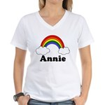 Annie Women's V-Neck T-Shirt