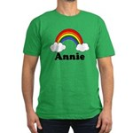 Annie Men's Fitted T-Shirt (dark)