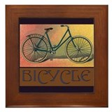 Bicycle Framed Tile