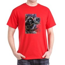 Werewolf Warrior Black T-Shirt