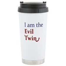 I am the Evil Twin Ceramic Travel Mug