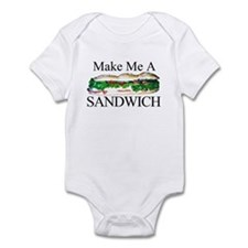 Make me a Sandwich Infant Bodysuit