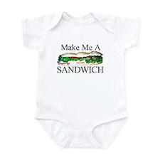 Make me a Sandwich Infant Bodysuit