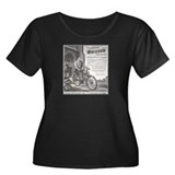 """1946 Whizzer Ad"" Women's Plus Size Scoop Neck Dar"