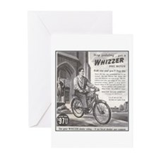 """1946 Whizzer Ad"" Greeting Cards (Pk of 10)"