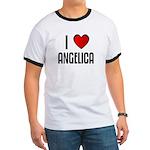 I LOVE ANGELICA Ringer T