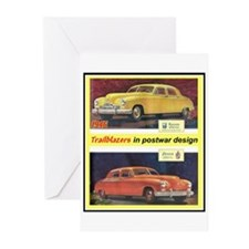 """1946 Kaiser-Frazer Ad"" Greeting Cards (Pk of 20)"