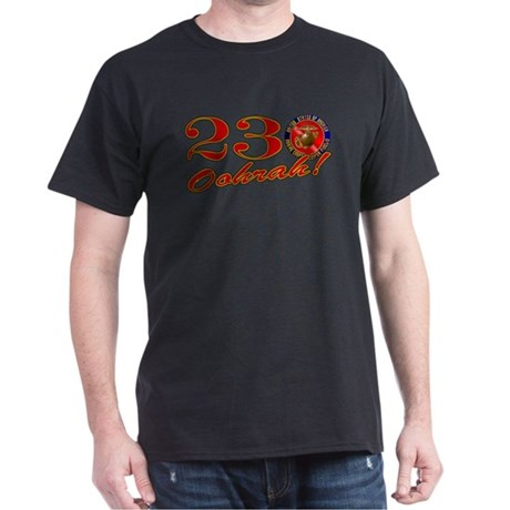 Marines 230th Birthday Black T-Shirt