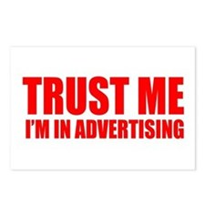 Trust me I'm in advertising Postcards (Package of