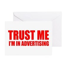 Trust me I'm in advertising Greeting Cards (Packag