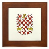 Moravian Eagle Framed Tile