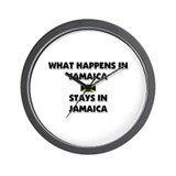 What Happens In JAMAICA Stays There Wall Clock