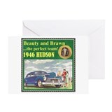 """1946 Hudson Ad"" Greeting Card"