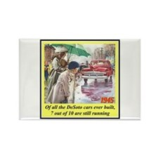 """1945 DeSoto Ad"" Rectangle Magnet (100 pack)"
