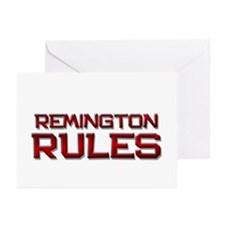 remington rules Greeting Cards (Pk of 10)