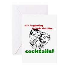 Cocktails! Greeting Cards (Pk of 20)