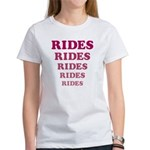 Amusement Park 'Rides' Rider Women's T-Shirt
