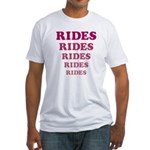 Amusement Park 'Rides' Rider Fitted T-Shirt
