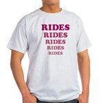 Amusement Park 'Rides' Rider Light T-Shirt