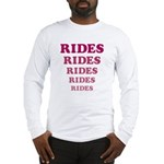 Amusement Park 'Rides' Rider Long Sleeve T-Shirt